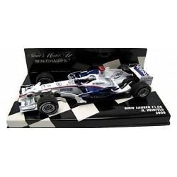 MINICHAMPS 400080003 BMW SAUBER F1 2008 No3 HEIDFELD