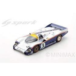 SPARK 18LM83 PORSCHE 956 N°3 Vainqueur 24H Le Mans 1983- A. Holbert -H. Haywood - V. Schuppan