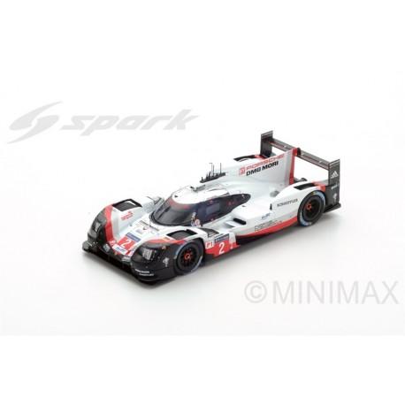 SPARK Y112 PORSCHE 919 Hybrid N°2 - Vainqueur 24H Le Mans 2017 Bernhard - Bamber - Hartley