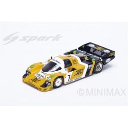 SPARK Y115 PORSCHE 956 N°7 Vainqueur 24H Le Mans 1984 H. Pescarolo - K. Ludwig