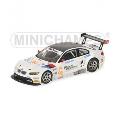 MINICHAMPS 400092992 BMW M3 GT2 ALMS 2009 No92 1.43
