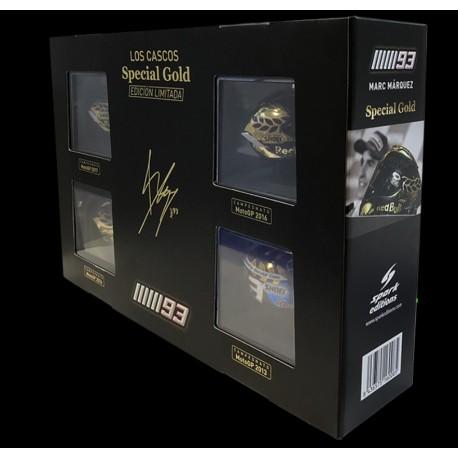SPARK CM01ENR2 COFFET SPECIAL GOLD MARQUEZ MM93