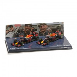 MINICHAMPS 472163303 SET RED BULL RB12 GP MALAYSIE 2016