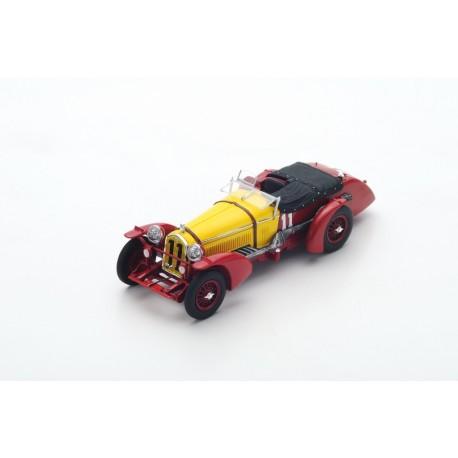 SPARK 43LM33 ALFA ROMEO 8C N°11 Vainqueur 24H Le Mans 1933 R. Sommer - T. Nuvolari