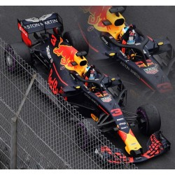 SPARK S6064 RED BULL Racing-TAG Heuer N°3 Vainqueur GP Monaco 2018 Red Bull Racing 250ème Course Daniel Ricciardo