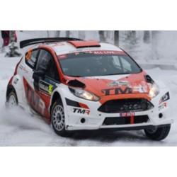 SPARK S5966 FORD Fiesta R5 Tommi Makinen Racing N°35 Vainqueur WRC2 Rallye Suède 2018 T. Katsuta - M. Salminen