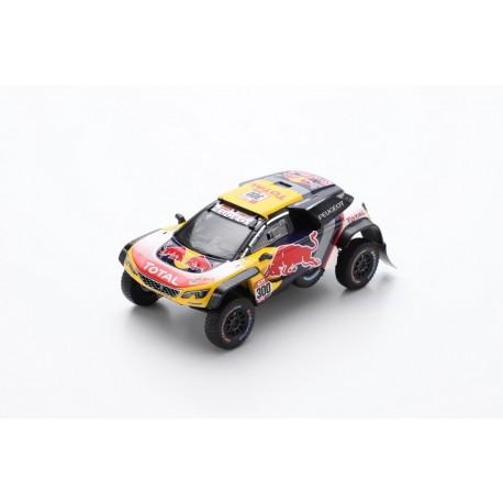 SPARK S5620 PEUGEOT 3008 DKR Maxi N°300-Team Peugeot Total-Dakar 2018 Peterhansel - Cottret