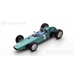 SPARK 18S225 BRM P57 N°3 Vainqueur GP Afrique du Sud 1962 Champion du monde Graham Hill