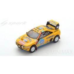 SPARK S5624 PEUGEOT 405 T16 Grand Raid N°203 Vainqueur Paris Dakar 1990 Vatanen - Berglund