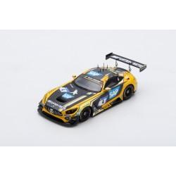 SPARK SG401 MERCEDES-AMG GT3 N°4 2è 24H Nürburgring 2018 Engel-Christodoulou-Metzger-Müller