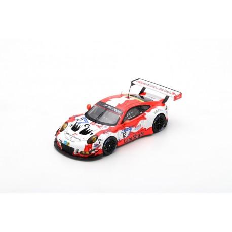 SPARK SG413 PORSCHE 911 GT3 R N°12 24H Nürburgring 2018 Klohs - Kern - Olsen - Frommenwiler