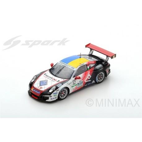 SPARK SI006 PORSCHE 911 GT3 Cup N°12 Porsche Carrera Italia Champion 2017 Alessio Rovera