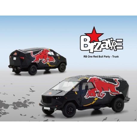 BIZARRE B1058 RED BULL EVENT CAR 1/43