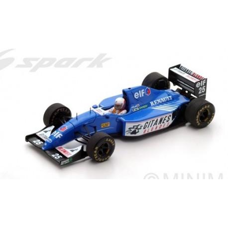SPARK S3977 LIGIER JS39 N°25 GP Afrique du Sud 1993- Martin Brundle