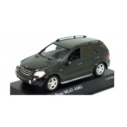 MINICHAMPS 400034571 MERCEDES ML 63 AMG 2006 NOIR METAL 1.43