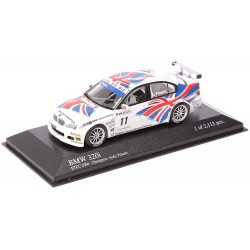 MINICHAMPS 400042411 BMW 320I BMW TEAM UK ETCC 2004 CHAMPION 1.43