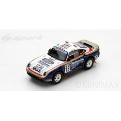 SPARK S7814 PORSCHE 959 N°185 2ème Paris-Dakar 1986 J. Ickx - C. Brasseur
