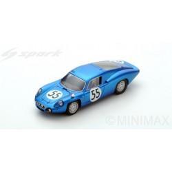 SPARK S5489 ALPINE A110 N°55 Le Mans 1965 J. Cheinisse - J-P. Hanrioud