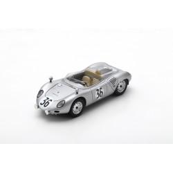 SPARK S4679 PORSCHE 718 RSK N°36 Le Mans 1959 C. Godin de Beaufort - C. Heins