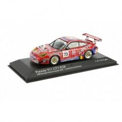 MINICHAMPS 400056473 PORSCHE 911 GT3 RSR N°73 LAMBERT/LEFORT/PALTTALA GORDON TEAM 1000KM SPA 2005