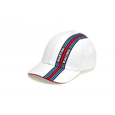 1202250100 CASQUETTE Martini Racing Enfant ligne racing côté ... 96f922df102