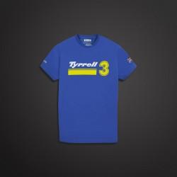 TSHIRT Tyrrell P34 bleu