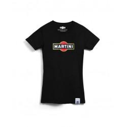 TSHIRT Martini Vintage Racing Logo Femme