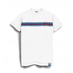 TSHIRT Martini Racing Stripe Enfant Blanc