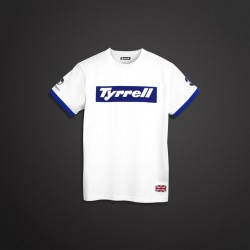 TSHIRT Tyrrell Ronnie blanc