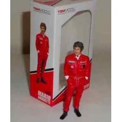 Mario Andretti Figurine 1/18ème Type I 1