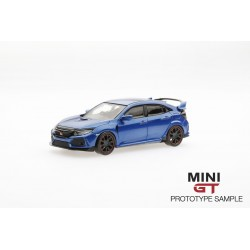 MINI GT MGT00002-R HONDA Civic Type R(FK8) Aegean Blue (RHD)