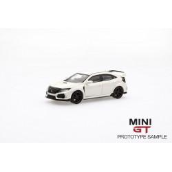 MINI GT MGT00001-L HONDA Civic Type R(FK8) Championship White (LHD)