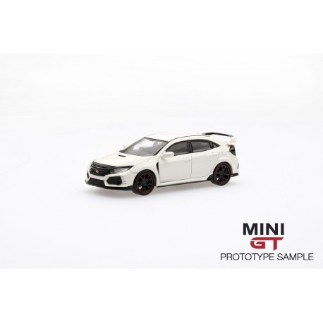 MINI GT MGT00001-R HONDA Civic Type R(FK8) Championship White (RHD)