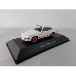 7114002 PORSCHE 911 CARRERA RS 1973 Blanc 1/43 Porsche Collection
