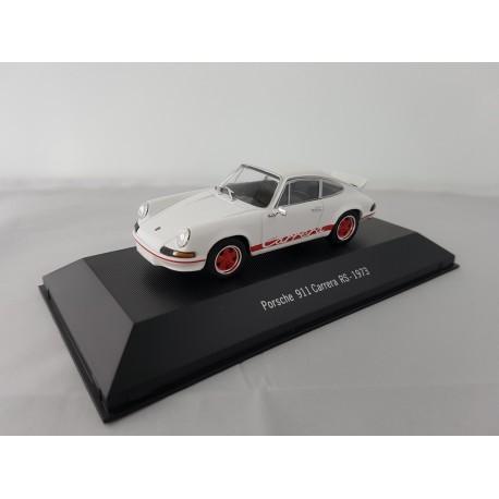 7114002 PORSCHE 911 CARRERA RS 1973 Blanc 1/43 Porsche Collection
