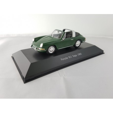 7114008 PORSCHE 911 TARGA 1965 Verte 1/43 Porsche Collection