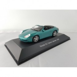 ATLAS 7114017 PORSCHE 911 CARRERA 2 CABRIOLET (996) 1999 Vert 1/43 Porsche Collection