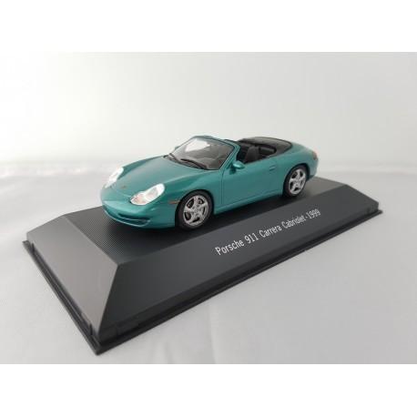 7114017 PORSCHE 911 CARRERA 2 CABRIOLET (996) 1999 Vert 1/43 Porsche Collection