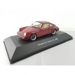 ATLAS 7114018 PORSCHE 911 CARRERA 3.2 (typ G) 1984 Rouge 1/43 Porsche Collection