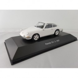 ATLAS 7114024 PORSCHE 911 S 1967 Blanc 1/43 Porsche Collection