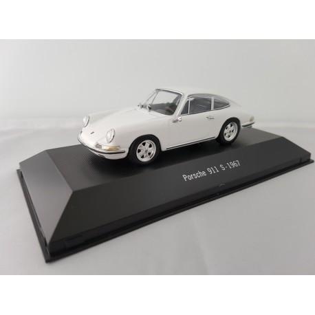 7114024 PORSCHE 911 S 1967 Blanc 1/43 Porsche Collection