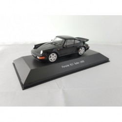 ATLAS 7114025 PORSCHE 911 TURBO (964) 1990 Noire 1/43 Porsche Collection