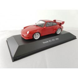 7114027 PORSCHE 911 GT2 (993) 1993 Rouge 1/43 Porsche Collection