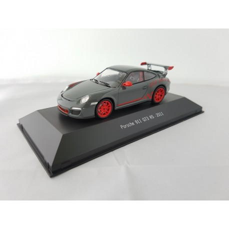 7114029 PORSCHE 911 GT3 RS (997) 2011 Grise 1/43 Porsche Collection
