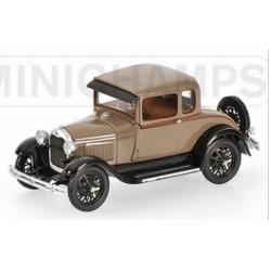 MINICHAMPS 400082102 FORD MODEL A STANDARD 1928 BEIGE 1.43