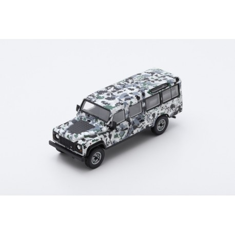 TRUESCALE TSM430215 LAND ROVER Defender CNN Armoured Pizza Truck