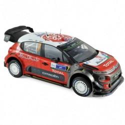 NOREV 181632 CITROEN C3 WRC N°7 MEXIQUE 17 MEEKE (1/ 1.18