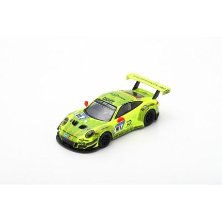 SPARK Y118 PORSCHE 911 GT3 R N°911 24H Nürburgring 2018 Estre - Dumas - Vanthoor - Bamber (1/64)