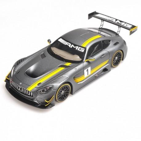 MINICHAMPS 437163001 MERCEDES AMG GT3 PRESENTATION HOCKENHEIM