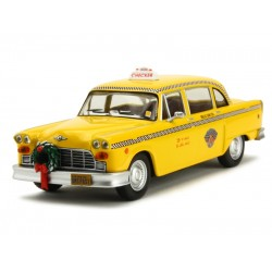 GREENLIGHT 86075 CHECKER TAXI CAB 1978 SCROODED